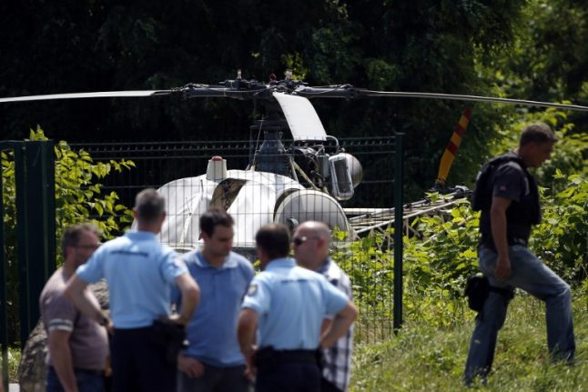 Notorious French gangster finally snared after three months on the run