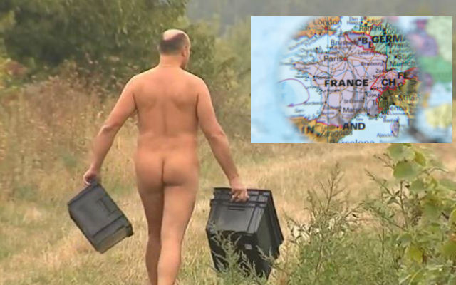 A Glance around France: Naked grape picking in Auvergne and anger in Normandy towards the British