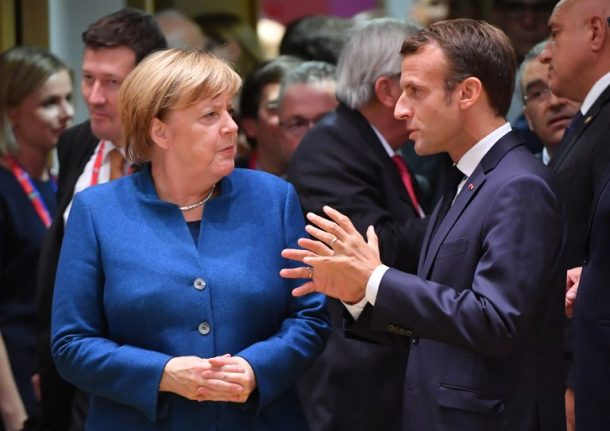 'Pure demagoguery': Macron clashes with Merkel over Saudi arms exports after Khashoggi murder