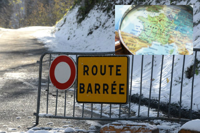Glance around France: Winter weather leads to road closures in the Alps and sniffer dogs arrive in Nice