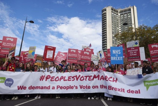 Why we're marching: Scores of Brits in France head to London to demand People's Vote on Brexit
