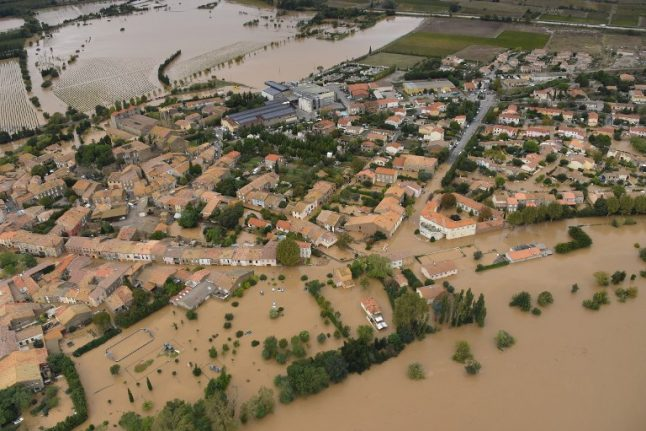 LATEST: Devastating floods in south-western France leave at least 11 dead