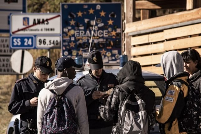 Italy accuses France of trying to dump underage migrants over the border