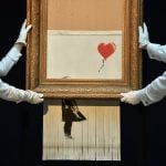 Paris auction house holds its breath ahead of Banksy sale after shredding