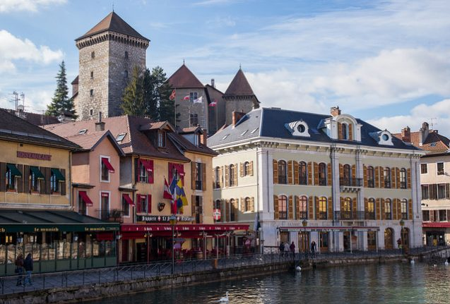 The one place to visit in France this weekend: Annecy