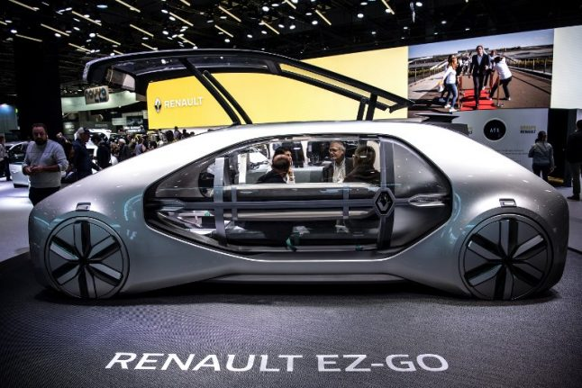 At Paris Motor Show, electric cars are the future – just 'not right away'