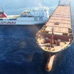 Fuel spill feared as cargo ships collide off Corsica