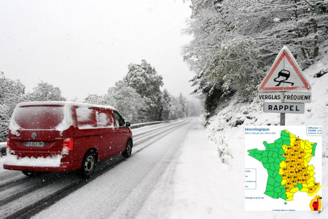 Update: Swathes of France on alert for snow and storms as early winter chill bites