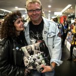 Johnny Hallyday: French rock fans queue up for posthumous album