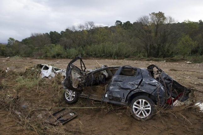 Updated: Two bodies found in southern France after flash floods sweep cars out to sea