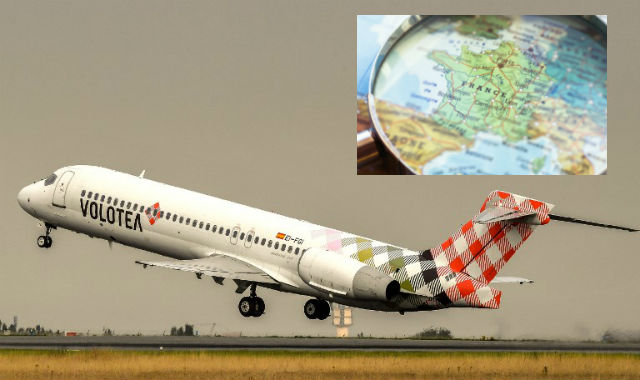 Glance around France: New plane routes from Bordeaux and a forest fire blazes near Paris