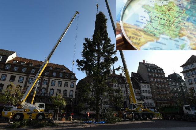 Glance around France: Alsace is back on the French map and Strasbourg gears up for Christmas