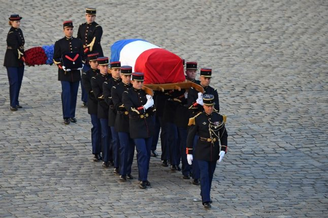 Little man with a big life: France bids farewell to singer Charles Aznavour