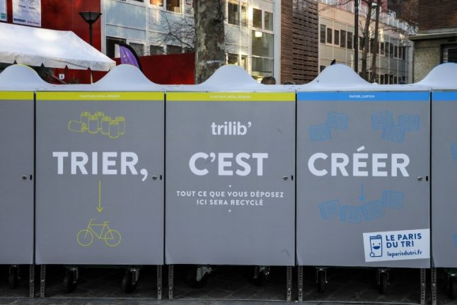 Do the French just not care enough about recycling?