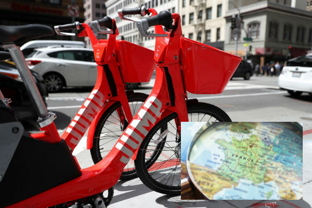 Glance around France: Uber to challenge Velib' in Paris and dengue fever hits the south
