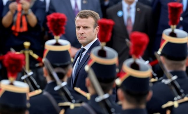 Macron calls for 'real European army' to defend against Russia and US
