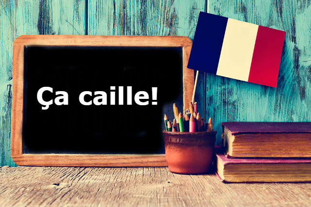 French Expression of the Day: Ça caille!