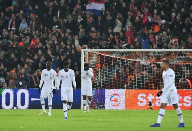 Netherlands hand France first post-World Cup defeat