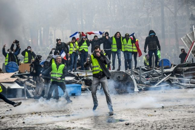 LATEST: 'Yellow vest' road blocks continue with Macron under pressure to respond