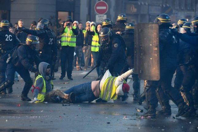 French fuel protests marred by death, injuries as well as homophobic and racist abuse