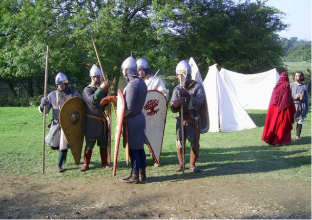 Why do the French still call us 'Les Anglo-Saxons'?