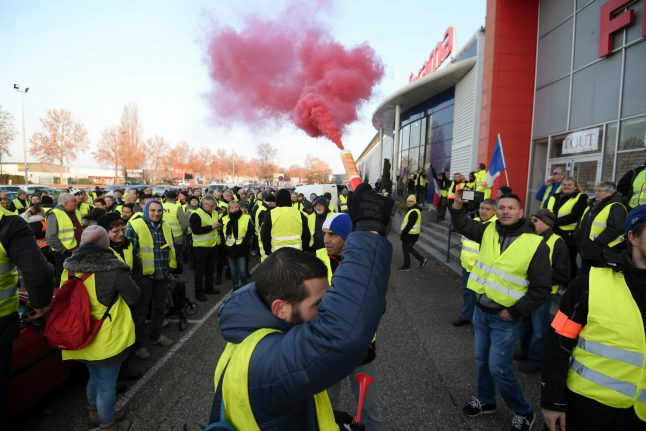 In Pictures: France's 'yellow vests' fuel protests