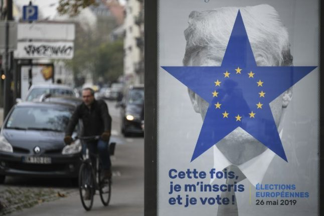 'Vote or get this': France uses Trump's face to spur people to vote