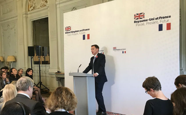 'We can still be friends': UK foreign secretary tries to soothe Brexit tensions with France