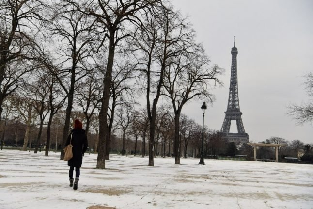 Snow forecast for Paris as Lyon is placed on alert for winter weather