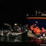 French authorities pick up eight migrants in Channel
