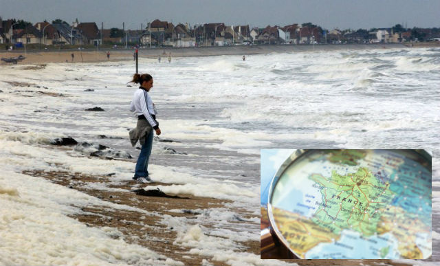 Glance around France: Normandy mayors cry for help over coastal erosion