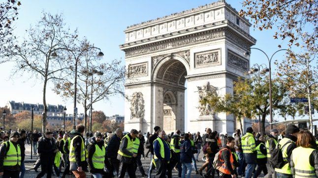 French anti-fuel tax protesters plan to bring Paris to a standstill