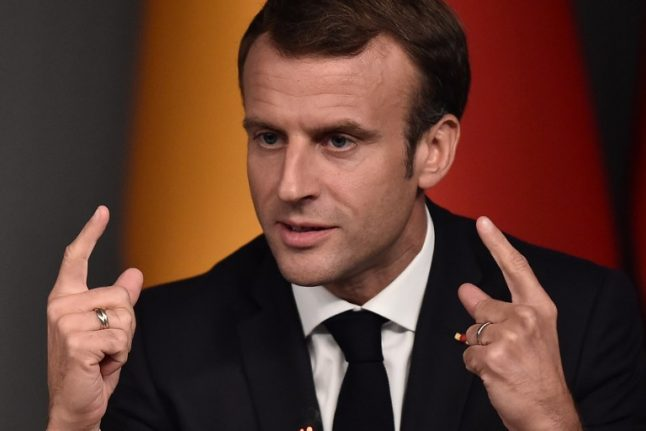 France's Macron warns Europe of a return to 1930s