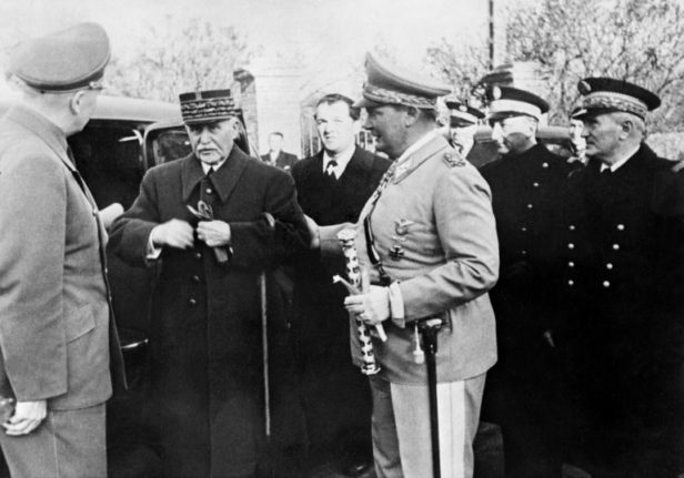 Five things to know about Marshal Philippe Pétain - France's WWI hero turned Nazi collaborator