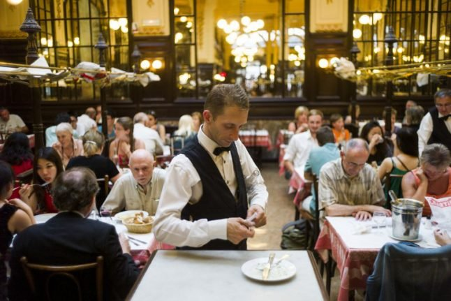 '€100 per head': Minister's taste in Paris restaurants gives the French indigestion