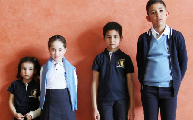 French town rolls out France's first ever school uniforms