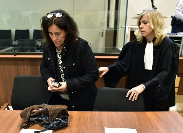 Mother who hid baby in filthy car boot jailed in France