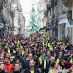 More 'yellow vest' protests to take place in France on Saturday and New Year's Eve
