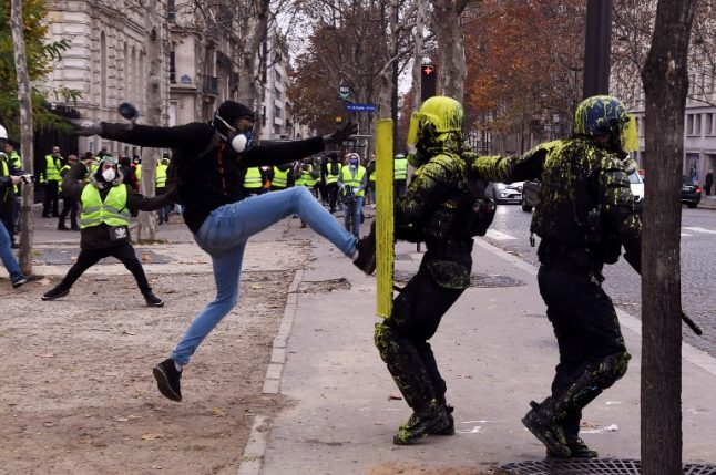 French presidency fears 'major violence' at Saturday's protests