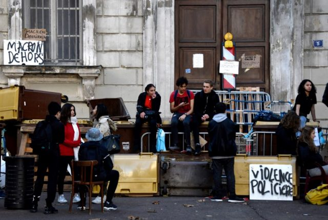 Why French high school students are also out on the streets