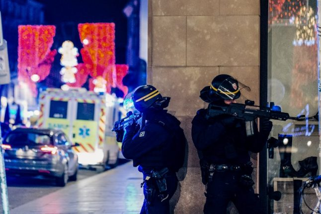 Three killed, several critically wounded in Strasbourg Christmas market shooting