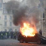 Clashes mar latest Paris 'yellow vest' protest as hundreds are arrested