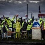 French police clear 'yellow vests' from roadside strongholds