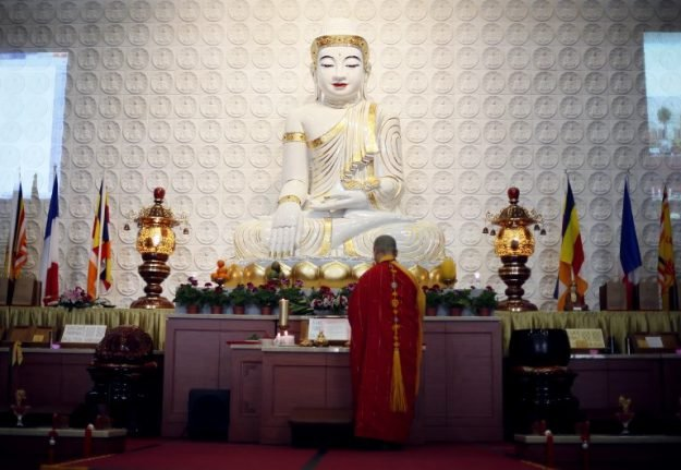 Buddhist monk jailed for 12 years in France for multiple rapes