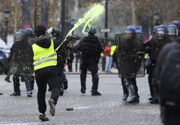 Anarchists, butchers and finance workers: A look at the Paris rioters