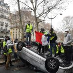 IN IMAGES: Violence erupts in Paris as 'Yellow Vests' return to Champs-Elysées