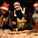 'My second family': French protesters band together for Christmas