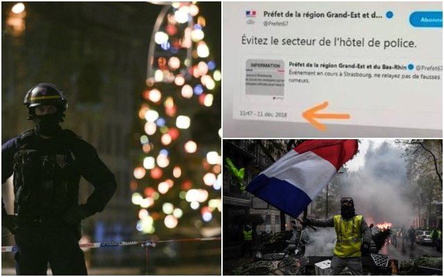 'Well played Macron': 'Yellow vest' Facebook pages flood with Strasbourg terror conspiracy theories