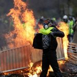 Paris: At least 122 protesters arrested during ugly clashes with police