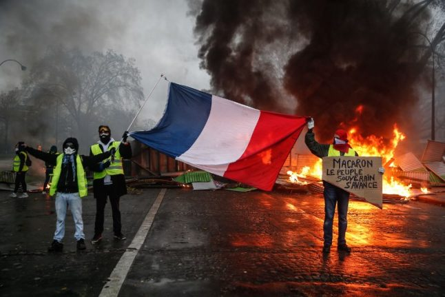 What are protesters planning for Paris on Saturday?